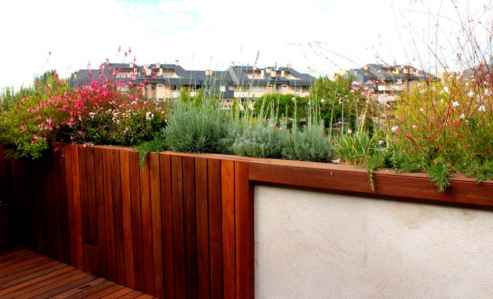 terraza pequea con mucho encanto