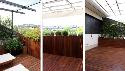 diseo de jardn para una terraza pequea con mucho encanto