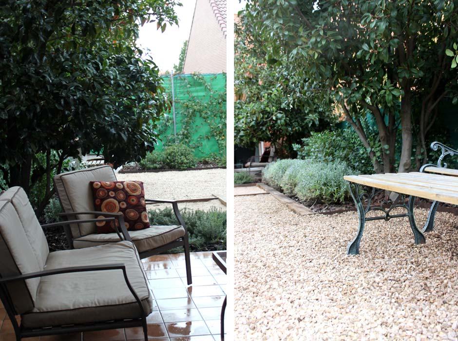 jardin sin mantenimiento