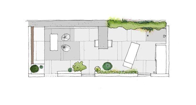 Planta de distribución en la fase de propuesta Idea