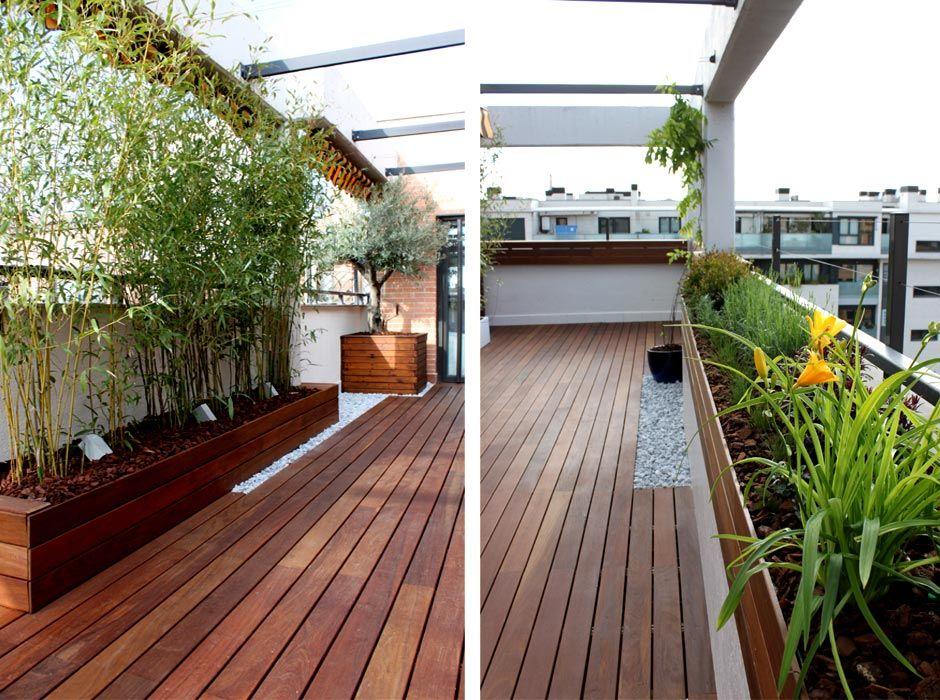 jardines en terraza