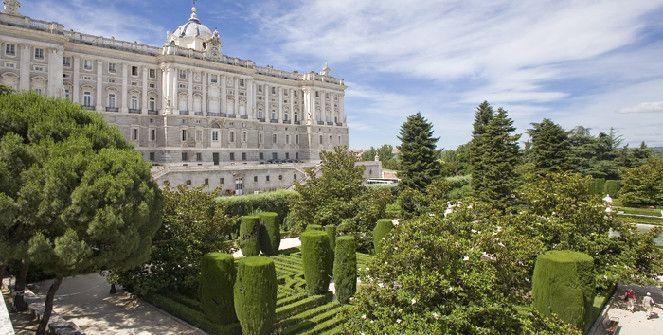 ruta de jardines madrid