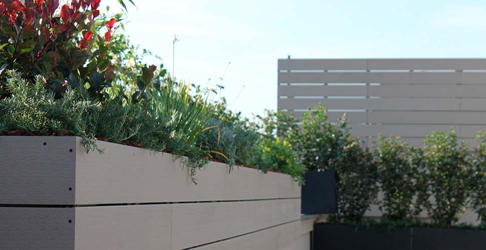 Dise o de terraza con personalidad la habitaci n verde - Jardines en aticos ...