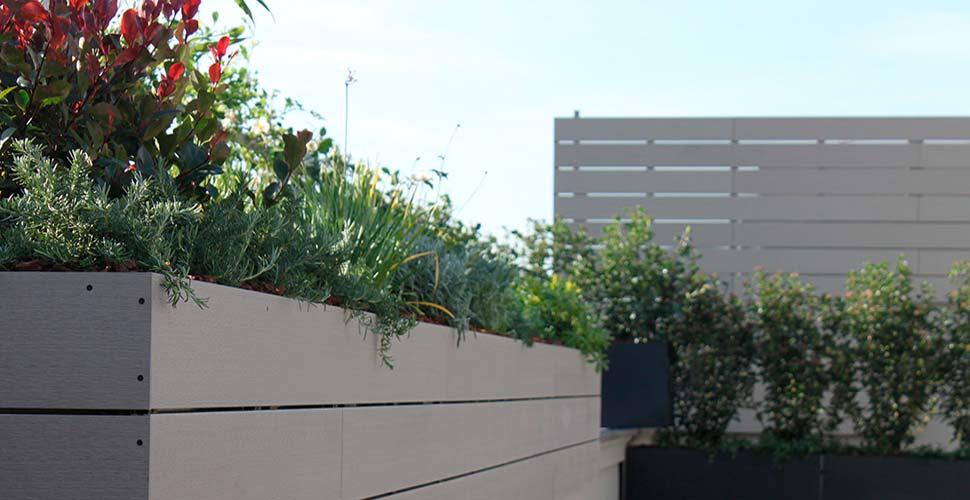 diseo de exteriores una terraza con mucha