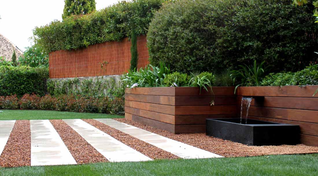 Fuentes para el jard n la habitaci n verde for Diseno de cascadas para jardin