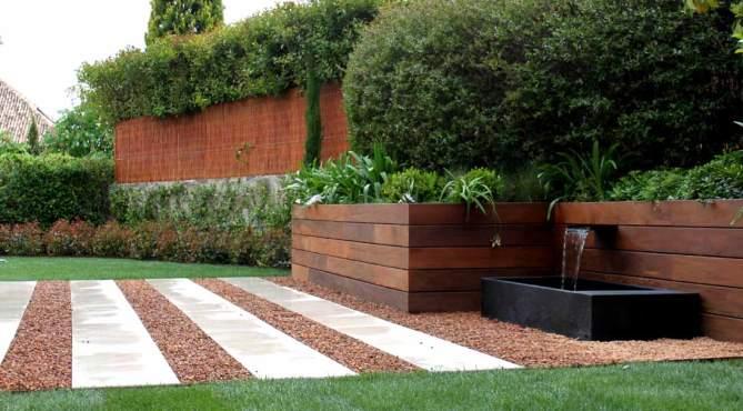 Fuente de diseño para el jardín
