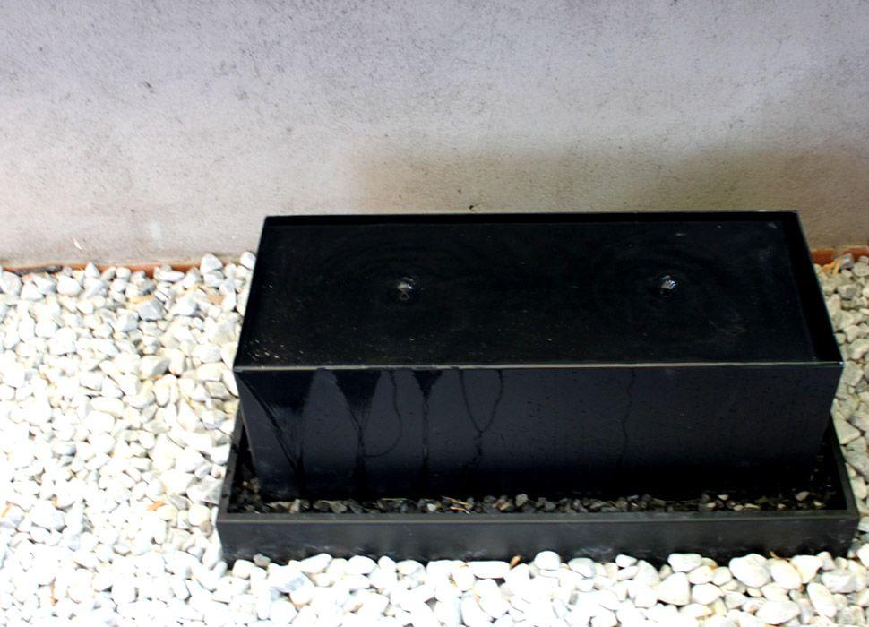 fuente moderna para jardín