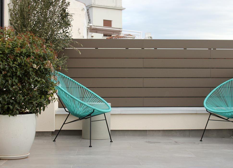 La habitaci n verde jard n en terraza en chamber for Definicion de terraza