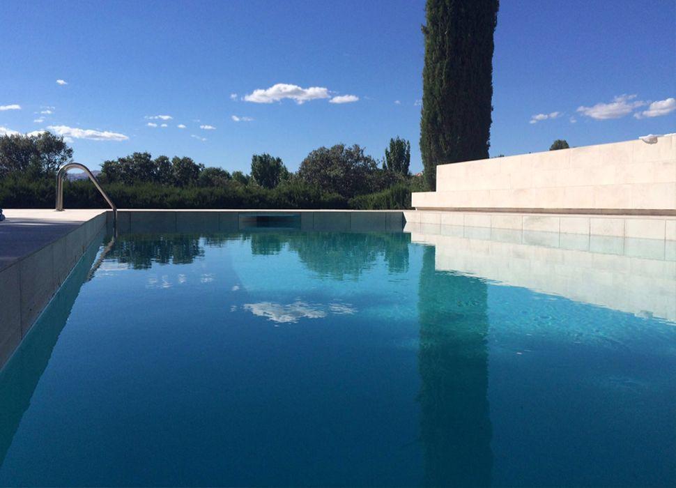 good piscina de diseo en madrid with diseo jardines madrid