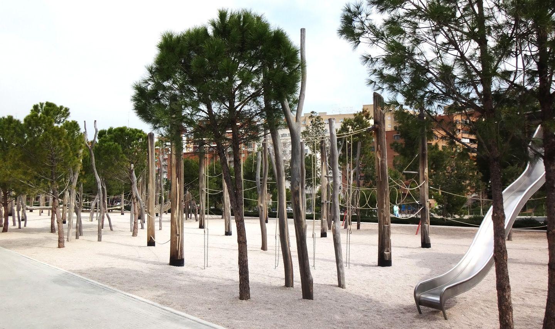 Jardines parque urbano madrid r o la habitaci n verde - Paisajismo madrid ...
