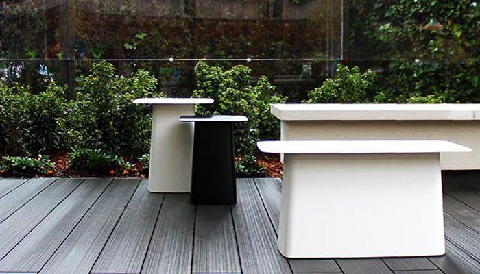 Mobiliario de exterior para oficinas