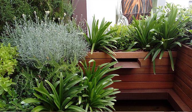 Casos de xito terraza con jard n vertical la habitaci n verde - Jardines en aticos ...
