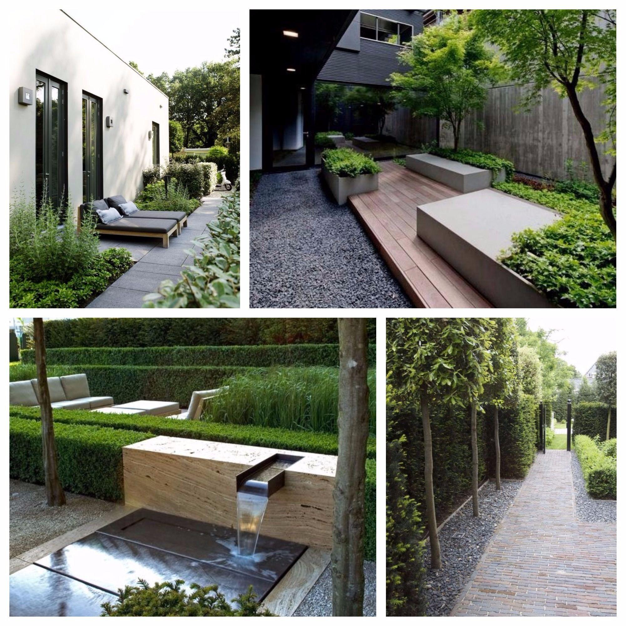 Ideas para jardines sin c sped la habitaci n verde for Cesped para jardin