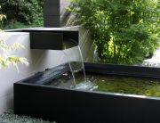 Fuente para jardín para oficinas