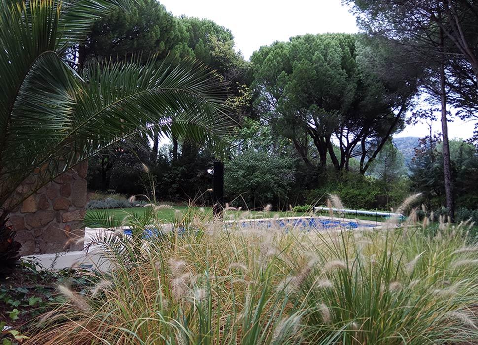 Jardín en urbanización San Ramón
