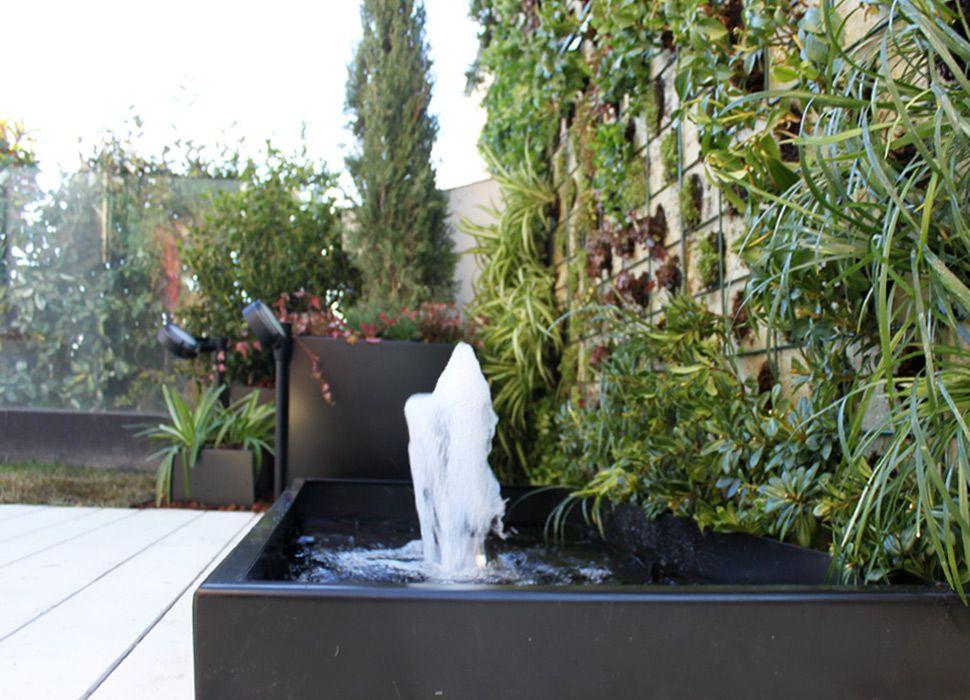 Fuentes de jard n la habitaci n verde - Fuente de jardin ...