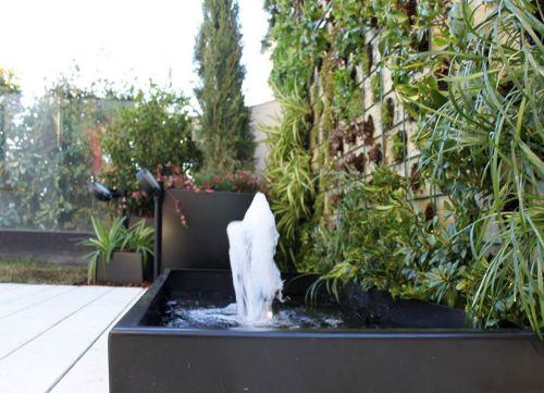 Fuente de jardín tipo borbotón