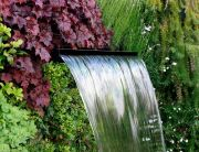 Fuente de cascada para jardín