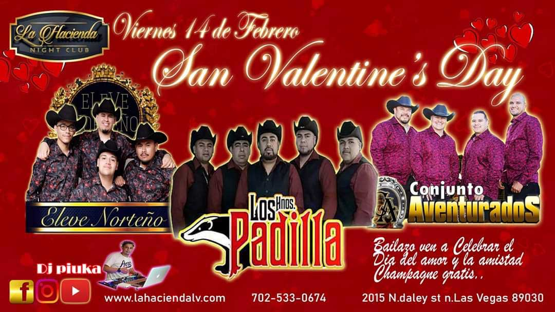 Valentines Day at La Hacienda Nightclub Las Vegas