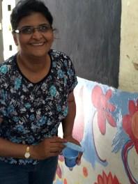 Sanjivani's smiling paintbrush