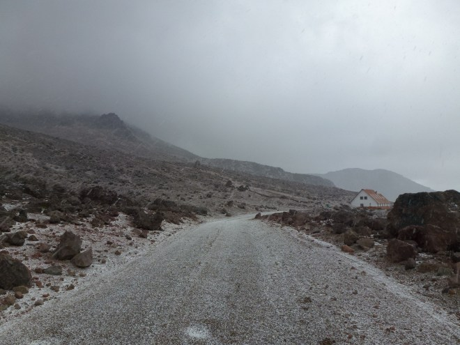 Chimborazo sous la neige