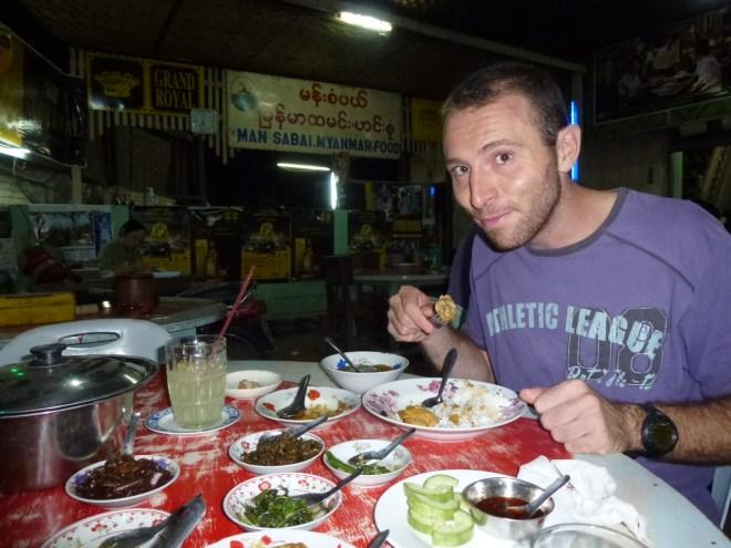 Restaurant Mann Sabai Myanmar Food à Nyaung U