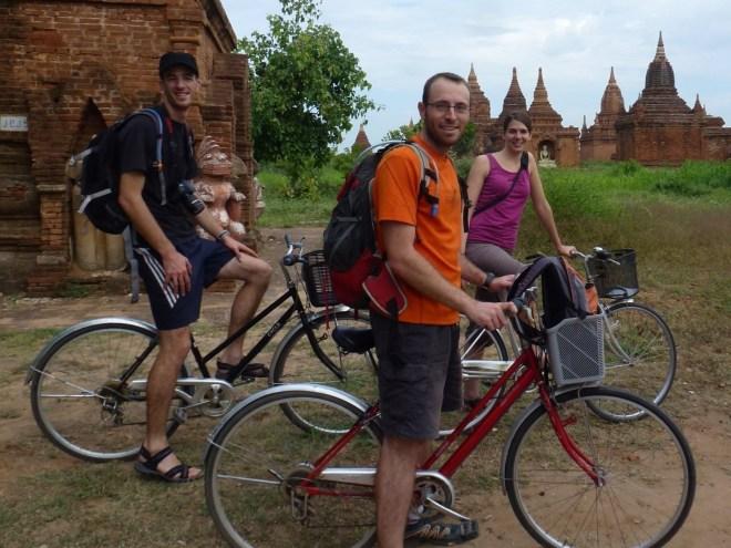 Bagan à vélo