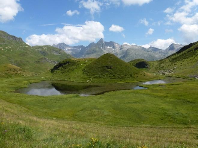 Lac vers le refuge de Moëde Anterne