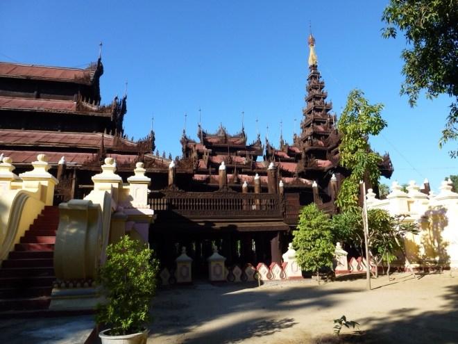 Monastère Shwe In Bin à Mandalay