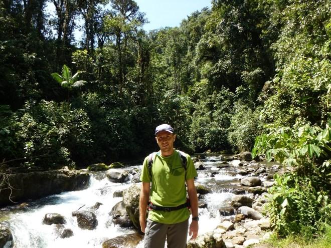 Cascades aux alentours de Mindo