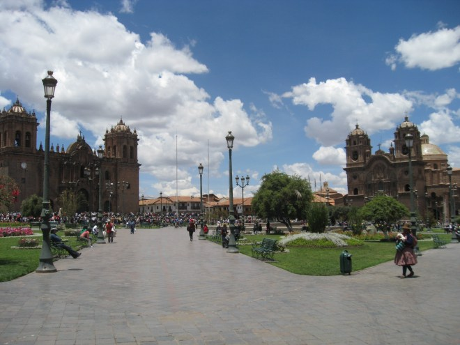 Plaza de Armas - Cuzco - Pérou