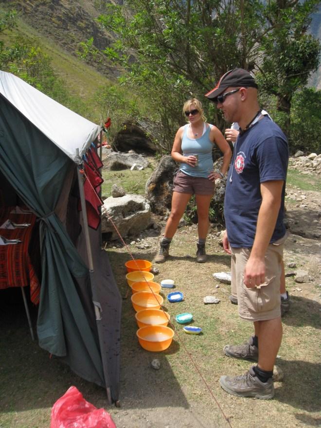 Campement - Camino Inca - Pérou