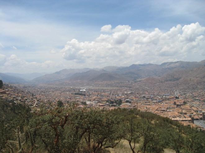 Saqsaywahman - Vue de Cuzco - Pérou