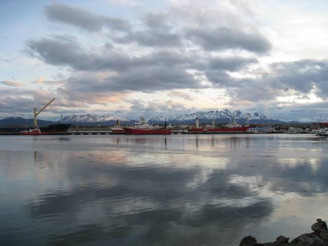 Port d'Ushuaia - Argentine