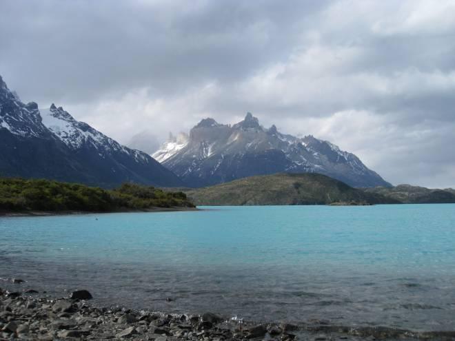 Lac Pehoe, Los Cuernos, Torres del Paine - Patagonie