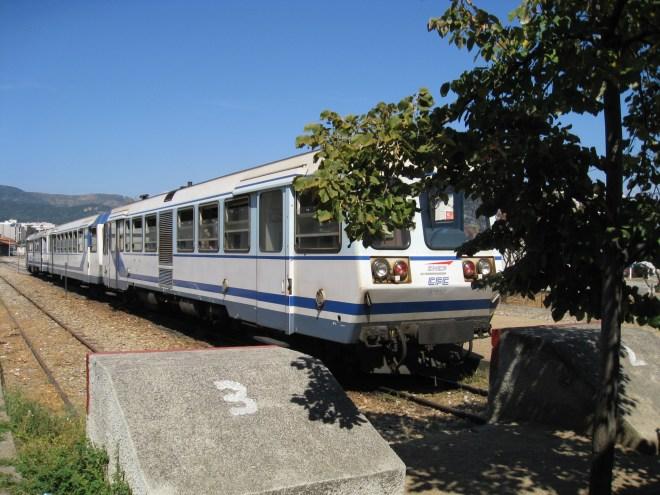 Train Vizzavona - Corse
