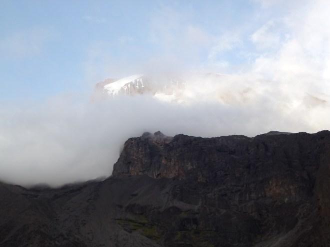 Kili depuis Barranco Hut (3940m)