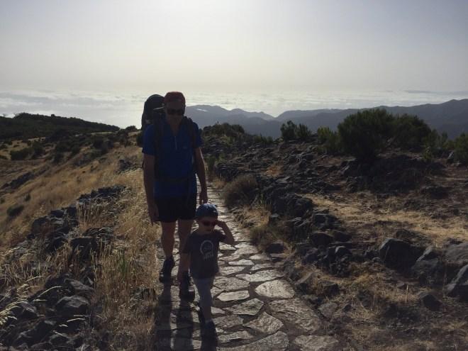 Montée au Pico Ruivo Madere
