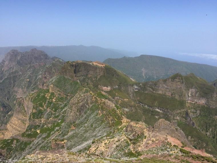 Sommet du Pico Ruivo Madere
