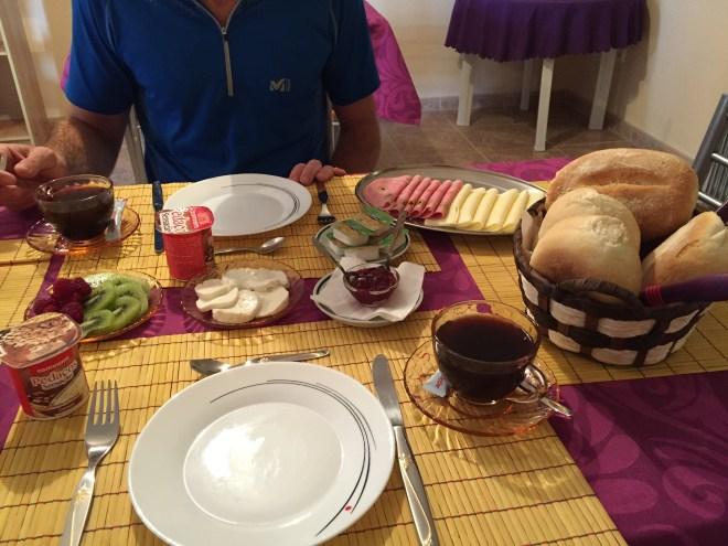 petit déjeuner perola dourada santana madère