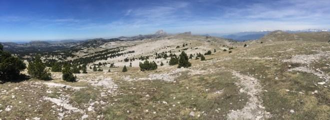 Plateau depuis Croix du Lautaret