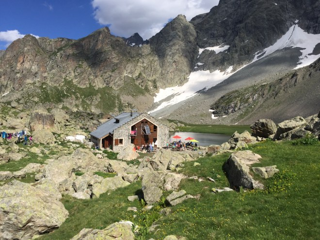 Refuge Vallonpierre Valgaudemar Alpes