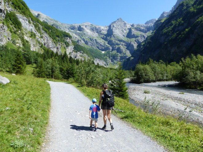 Cirque fer cheval Sixt Haute Savoie Alpes
