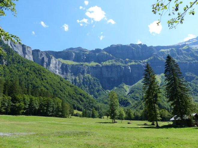 Cirque fer cheval Sixt Alpes Haute Savoie