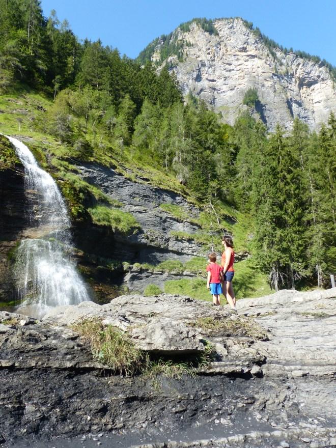 Cascade rouget sixt Haute Savoie Alpes