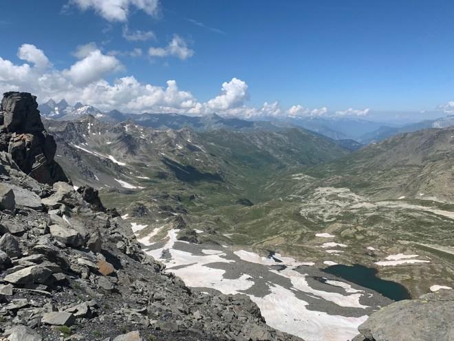 Crête Roche du Chardonnet, Les Cerces, Les Alpes, France