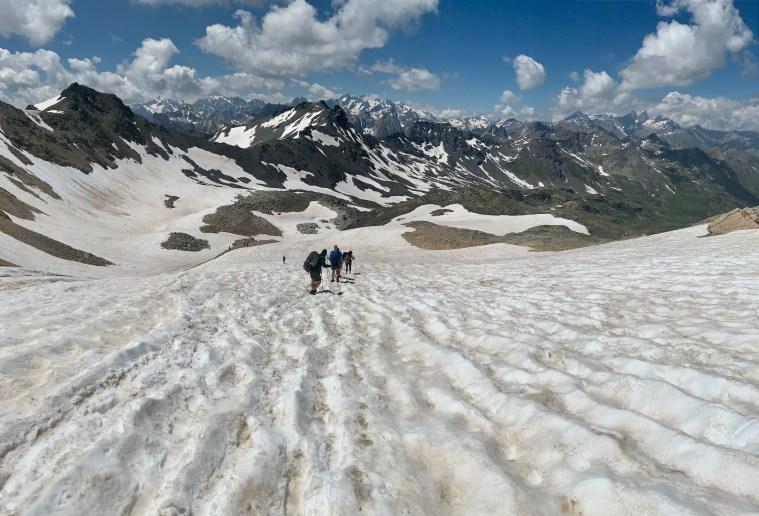 Col de la Chapelle, Les Cerces, Les Alpes, France