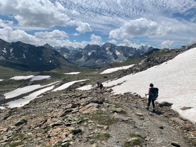 Col des Muandes, Les Cerces, Les Alpes, France