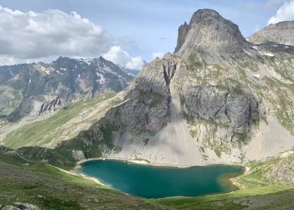 Feu d'artifice de lacs pour le 14 juillet