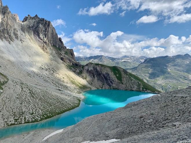 Lac des Béraudes avant col des Béraudes 2